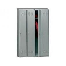 Медицинский шкаф для одежды ПРАКТИК МД LS(LE)-41
