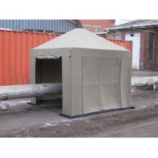 Палатка сварщика 3х3 м (брезент)